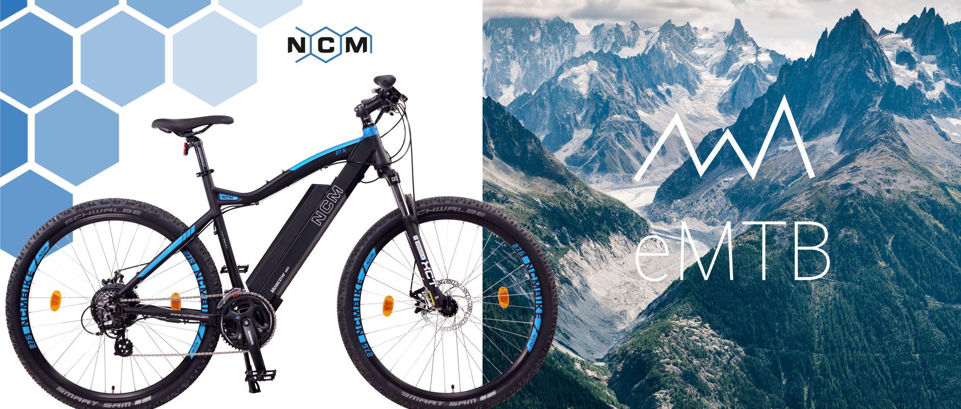 ncm moscow 48v 27 5 29 e mtb mountainbike e bike. Black Bedroom Furniture Sets. Home Design Ideas